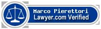 Marco Pierettori  Lawyer Badge