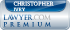 Christopher Anthony Ivey  Lawyer Badge