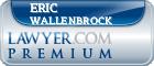 Eric Dale Wallenbrock  Lawyer Badge