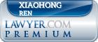 Xiaohong Ren  Lawyer Badge