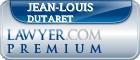 Jean-Louis Dutaret  Lawyer Badge