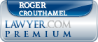 Roger P. Crouthamel  Lawyer Badge