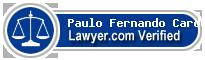 Paulo Fernando De Menezes Cardoso  Lawyer Badge