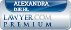 Alexandra Nicola Diehl  Lawyer Badge