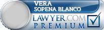 Vera Sopena Blanco  Lawyer Badge