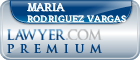 Maria Isabel Rodriguez Vargas  Lawyer Badge