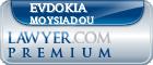 Evdokia Moysiadou  Lawyer Badge