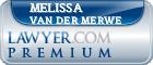 Melissa Hilary Van Der Merwe  Lawyer Badge