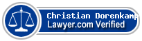 Christian Phil Dorenkamp  Lawyer Badge