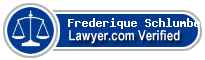 Frederique Schlumberger  Lawyer Badge