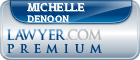 Michelle S. Denoon  Lawyer Badge