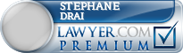 Stephane Drai  Lawyer Badge