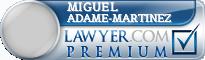 Miguel Angel Adame-Martinez  Lawyer Badge