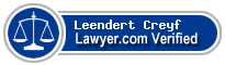 Leendert Carl Tomas Creyf  Lawyer Badge