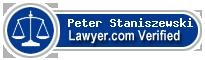 Peter Christopher Staniszewski  Lawyer Badge