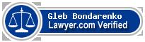 Gleb V. Bondarenko  Lawyer Badge