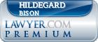 Hildegard Bison  Lawyer Badge