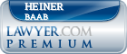 Heiner Baab  Lawyer Badge