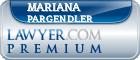Mariana Souza Pargendler  Lawyer Badge