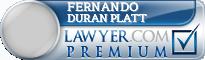 Fernando Duran Platt  Lawyer Badge