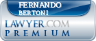 Fernando Raul Bertoni  Lawyer Badge