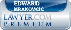 Edward John Mrakovcic  Lawyer Badge