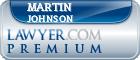 Martin R. Johnson  Lawyer Badge
