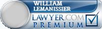 William Lemanissier  Lawyer Badge