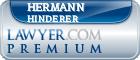 Hermann Ali Hinderer  Lawyer Badge