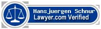 Hansjuergen Schnur  Lawyer Badge