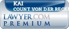 Kai Count Von Der Recke  Lawyer Badge