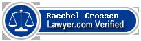 Raechel M. Crossen  Lawyer Badge