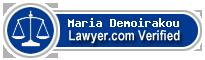 Maria Demoirakou  Lawyer Badge