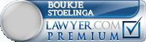 Boukje Maria Stoelinga  Lawyer Badge