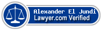 Alexander James El Jundi  Lawyer Badge