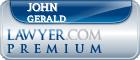 John Oneil Gerald  Lawyer Badge