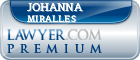 Johanna Schwartz Miralles  Lawyer Badge