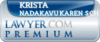 Krista Nadakavukaren Schefer  Lawyer Badge