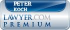 Peter Koch  Lawyer Badge