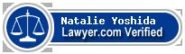 Natalie Yoshida  Lawyer Badge