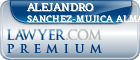 Alejandro Alfonso Sanchez-Mujica Almada  Lawyer Badge