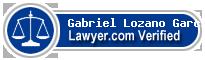 Gabriel Lozano Garcia Corral  Lawyer Badge