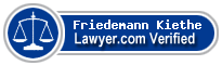 Friedemann Felix Kiethe  Lawyer Badge