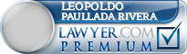 Leopoldo Esteban Paullada Rivera  Lawyer Badge