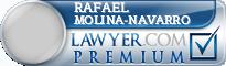 Rafael Molina-Navarro  Lawyer Badge
