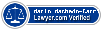 Mario J. Machado-Carrillo  Lawyer Badge