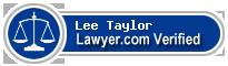 Lee Scott Taylor  Lawyer Badge