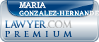 Maria Carolina Gonzalez-Hernandez  Lawyer Badge