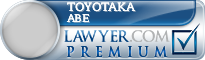 Toyotaka Abe  Lawyer Badge