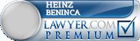 Heinz Juergen Beninca  Lawyer Badge